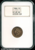 Proof Indian Cents: , 1883 1C, RD