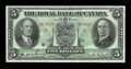 Canadian Currency: , Montreal, PQ- The Royal Bank of Canada $5 July 3, 1933 Ch. #630-16-02. ...