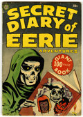 Golden Age (1938-1955):Horror, Secret Diary of Eerie Adventures #nn (Avon, 1953) Condition:GD+....