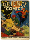 Golden Age (1938-1955):Science Fiction, Science Comics #1 (Fox, 1940) Condition: Apparent GD/VG....