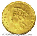 Three Dollar Gold Pieces: , 1855 $3