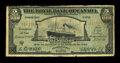 World Paper Money: , Basseterre, St. Kitts- The Royal Bank of Canada $5 Jan. 2, 1920 Ch. # 630-58-02. ...