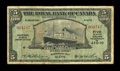 Canadian Currency: , Basseterre, St. Kitts- The Royal Bank of Canada $5 Jan. 3, 1938 Ch. # 630-60-02. ...