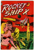 Golden Age (1938-1955):Science Fiction, Rocket Ship X #1 (Fox, 1951) Condition: VG+....