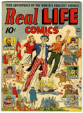 Golden Age (1938-1955):Non-Fiction, Real Life Comics #1 (Nedor Publications, 1941) Condition: FN+....