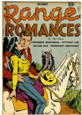 Golden Age (1938-1955):Romance, Range Romances #1 (Quality, 1949) Condition: VG/FN....