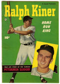 Golden Age (1938-1955):Non-Fiction, Ralph Kiner, Home Run King #nn (Fawcett, 1950) Condition: FN-....
