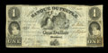 Canadian Currency: , Montreal, LC- La Banque Du Peuple $1 Oct. 1, 1839 Ch. #575-14-02-02R. ...
