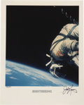 "Transportation:Space Exploration, Gemini 12 ""Sightseeing"" Photograph Signed By Lovell..."