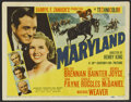 "Movie Posters:Drama, Maryland (20th Century Fox, 1940). Title Lobby Card (11"" X 14""). Drama...."