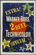 "Movie Posters:Short Subject, 2 Reel Technicolor Stock (Warner Brothers, 1949). One Sheet (27"" X41""). Short Subject...."