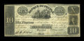 Canadian Currency: , Montreal, LC- La Banque Du Peuple $10 May 2, 1836 Ch. #575-10-04-04. ...