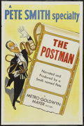 """Movie Posters:Short Subject, A Pete Smith Specialty (MGM, 1953). One Sheet (27"""" X 41"""") """"ThePostman."""" Short Subject...."""
