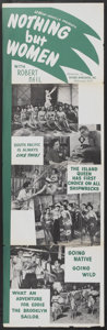 """Movie Posters:Comedy, Nothing But Women (Picture Associates, 1950). Insert (14"""" X 44""""). Comedy...."""