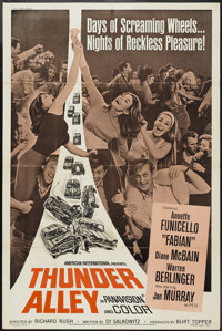 """Thunder Alley (American International, 1967). Poster (40"""" X 60""""). Action"""