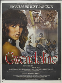 "The Perils of Gwendoline in the Land of the Yik Yak (Parafrance, 1984). French Grande (47"" X 63""). Also known..."