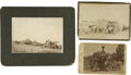 Photography:Cabinet Photos, Lot of Three Photographs of Steam Powered Machines ca 1880s-1890s -... (Total: 3 Items)