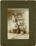 Photography:Cabinet Photos, Handicapped Child, circa 1900-1920...