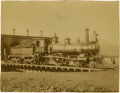 Photography:Cabinet Photos, Northern Pacific Railroad Engine. ...