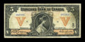 Canadian Currency: , Toronto, ON- The Standard Bank of Canada $5 Jan. 2, 1914 Ch. #695-18-02. ...