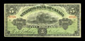 Canadian Currency: , Toronto, ON- The Sterling Bank of Canada $5 April 25, 1906 Ch. # 700-10-02. ...