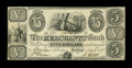 Canadian Currency: , Toronto, UC- The Merchants Bank $5 July 4, 1837 Ch. # 450-10-10....
