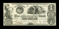 Canadian Currency: , Toronto, UC- The Merchants Bank $1 June 1, 1837 Ch. # 450-10-02. ...