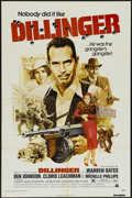 """Movie Posters:Crime, Dillinger (American International, 1973). One Sheet (27"""" X 41""""). Crime...."""