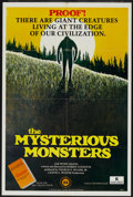 """Movie Posters:Documentary, The Mysterious Monsters (Sunn Classic, 1975). One Sheet (27"""" X 41""""). Documentary...."""