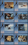 """Movie Posters:James Bond, The Living Daylights (United Artists, 1987). Lobby Card Set of 8 (11"""" X 14""""). James Bond.... (Total: 8 Items)"""