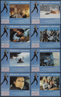 """The Living Daylights (United Artists, 1987). Lobby Card Set of 8 (11"""" X 14""""). James Bond.... (Total: 8 Items)"""