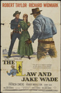 """Movie Posters:Western, The Law and Jake Wade (MGM, 1958). One Sheet (27"""" X 41""""). Western...."""