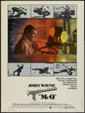"Movie Posters:Action, McQ (Warner Brothers, 1974). Poster (30"" X 40""). Action...."