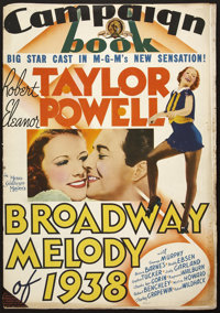 Broadway Melody of 1938 (MGM, 1937). Pressbook (Multiple Pages). Musical