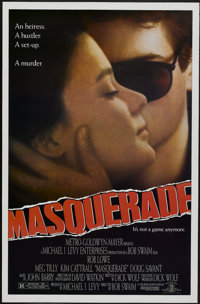 """Masquerade (MGM, 1988). One Sheet (27"""" X 41""""). Mystery"""