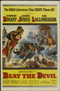 "Movie Posters:Adventure, Beat the Devil (United Artists, 1953). One Sheet (27"" X 41"").Adventure...."