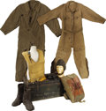 Military & Patriotic:WWII, Collection of Early Aviation Flight Suits and Equipment.... (Total: 7 Items)