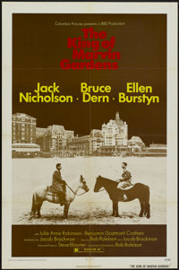 """The King of Marvin Gardens (Columbia, 1972). One Sheet (27"""" X 41""""). Crime"""