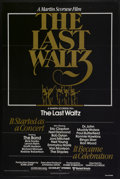 """Movie Posters:Rock and Roll, The Last Waltz (United Artists, 1978). One Sheet (27"""" X 41""""). Rockand Roll...."""