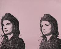 ANDY WARHOL (American, 1928-1987) Jacqueline Kennedy II (Jackie II), 1966 Screenprint in colors on w