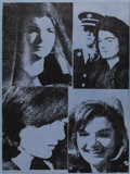 Prints, ANDY WARHOL (American 1928-1987). Jacqueline Kennedy III (Jackie III), 1966. Published in the portfolio 11 Pop Artists...