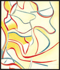 Prints, WILLEM DE KOONING (American, 1904-1997). Untitled, 1986. Lithograph in colors on Arches paper. One plate from Quatre L...