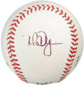 Autographs:Baseballs, Mark McGwire Single Signed Baseball. Big Mac's quality inksignature resides on a side panel of the provided ONL (Coleman)...