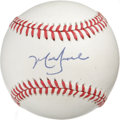 Autographs:Baseballs, Mark Grace Single Signed Baseball. The NL Rookie of the Year in1988, Mark Grace spent several seasons as a fan-favorite in...