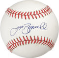 Autographs:Baseballs, Jeff Bagwell Single Signed Baseball. Surefire future Hall of Famerand Astros legend Jeff Bagwell was one of most Houston's...