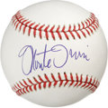Autographs:Baseballs, Monte Irvin Single Signed Baseball. A pristine application of theHall of Fame hurler Monte Irvin's signature can be found ...