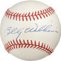 Autographs:Baseballs, Billy Williams Single Signed Baseball. 1961 NL Rookie of the YearBilly Williams makes the ONL (Coleman) ball seen here the...