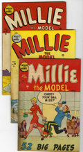 "Golden Age (1938-1955):Romance, Millie the Model #24, 25, 26, and 29 Group Davis Crippen (""D"" Copy)pedigree (Marvel, 1950-51).... (Total: 4)"