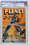 Golden Age (1938-1955):Science Fiction, Planet Comics #48 (Fiction House, 1947) CGC VF+ 8.5 Off-whitepages....