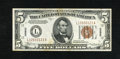Small Size:World War II Emergency Notes, Fr. 2301 $5 1934 Hawaii Federal Reserve Note. Crisp Uncirculated.. What appears to be a Choice CU note or better with some l...